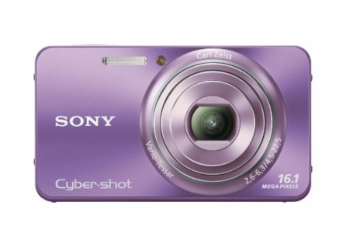 - Sony Cyber-Shot DSC-W570 16.1 MP Digital Still Camera with Carl Zeiss Vario-Tessar 5x Wide-Angle Optical Zoom Lens and 2.7-inch LCD (Violet)