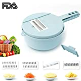 Best Food Choppers - Vegetable Fruit Chopper Wheat Straw Made Vegetable Cutter Review