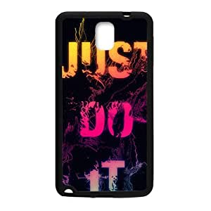 Just do it Colorful unique pattern Cell Phone Case for Samsung Galaxy Note3