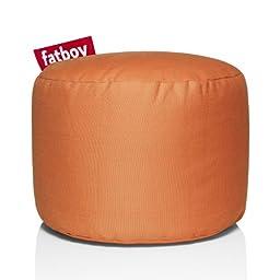 Fatboy Point Stonewashed Bean Bag, Orange