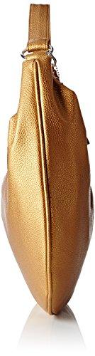 Paquetage Borsa a Spalla, di Grandi Dimensioni Oro (060/Gold)