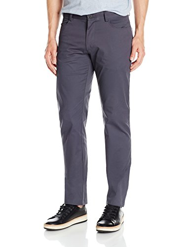 Buy now Calvin Klein Men's Slim Fit 4-Pocket Sateen Pant, Tornado, 34W 32L