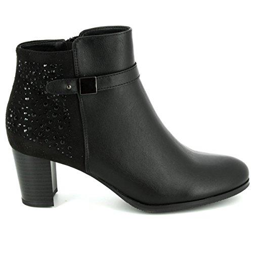 Lotus, Damen Stiefel & Stiefeletten  schwarz schwarz Schwarz