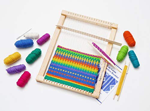 Harrisville Designs Lap Loom A with Wonder Wand -