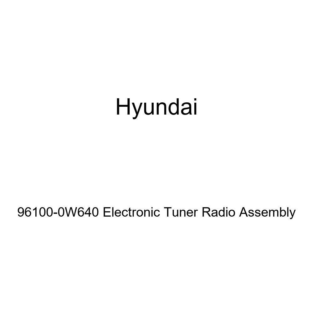 HYUNDAI Genuine 96100-0W640 Electronic Tuner Radio Assembly