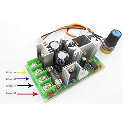 Electronic Components & Supplies 20a Universal Dc10-60v Pwm Hho Rc Motor Speed Regulator Controller Switch New