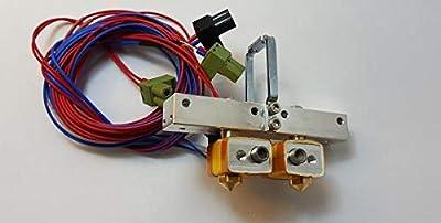 HEASEN Flashforge Extruder Assembly to Creator Pro Bar Mount Assembly for Flashforge Creator Pro 3D Printer