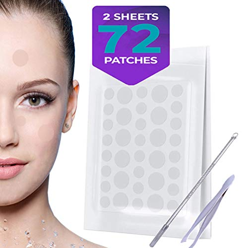 Acne Pimple Patch Healing Spot Patches, Hydrocolloid