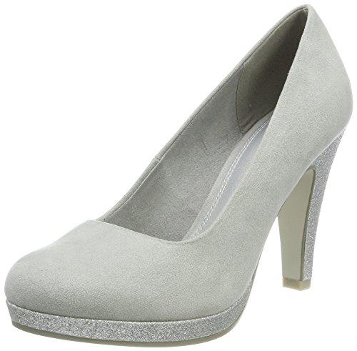 22441 de Tacón Mujer Comb Gris para Grey Zapatos Tozzi Marco pqtnxwI55