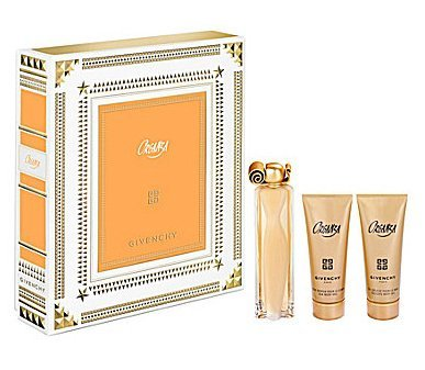 Organza By Givenchy for Women 3 Pc. Gift Set 3.4 Oz EAU De Parfum Spray, 75ml Silk Body Veil, 75ml,perfumed Bath Gel ()
