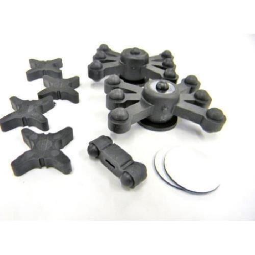 Bowjax 1030 Solid Limb Crossbow Kit (Black) (Limb Silencer Dampeners)