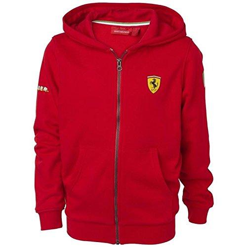 Ferrari Chaqueta capucha niñ o rojo talla 2 añ os