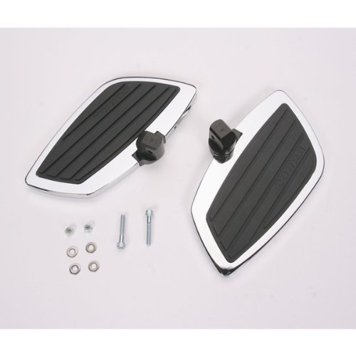Swept Rear Floorboard Kit (Cobra Rear Floorboard Kit Swept for Kawasaki Vulcan 900)