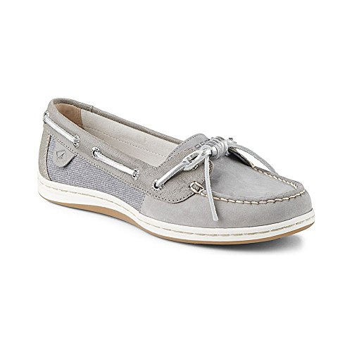 Sperry Top-Sider mujeres de Barrelfish Boat Shoe gris