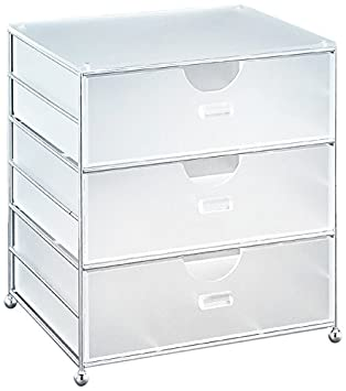 Organisieren It All Acryl 3 Mulleimer Korb Amazon De Kuche Haushalt