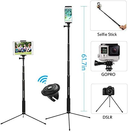 Moreslan Bluetooth Extendable Monopod Compatible product image