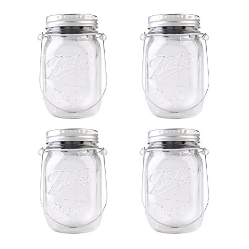 4-Pack-Solar-Powered-Mason-Jar-Lights-Mason-Jar-Handle-Included5-Colors-10-Bulbs-Jar-Hanging-LightGarden-Outdoor-Solar-LanternsHanging-LanternMason-Jar-Decor-Solar-LightTable-LightPatio-Path
