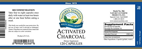 Activated Charcoal 120 Caps