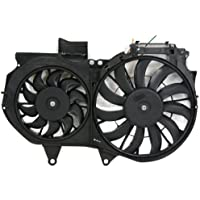 MAPM Premium A4 02-06 RADIATOR FAN SHROUD ASSEMBLY, Dual Type, 1.8L