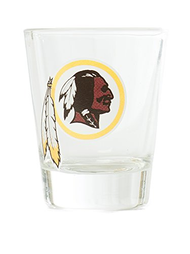Hunter NFL Washington Redskins Premium Heavy Base 2.0 oz Shot Glass