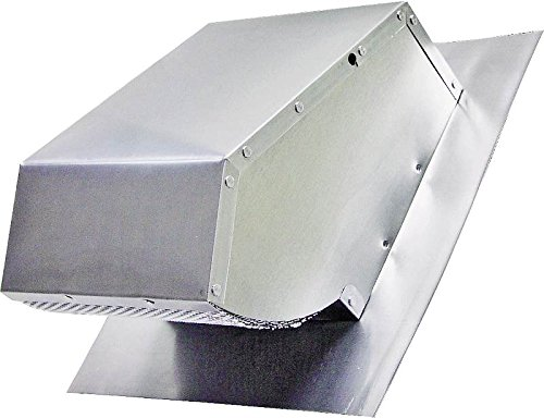 Range Hood Roof Cap, Mill Finish, Up to 7