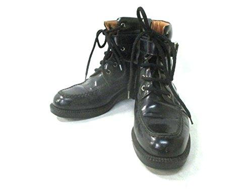 (グッチ) GUCCI ブーツ ショートブーツ レディース 黒 【中古】 B07F3775TN  -