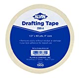 Alvin 2300-A Drafting Tape 1/2 inches x 60 yards