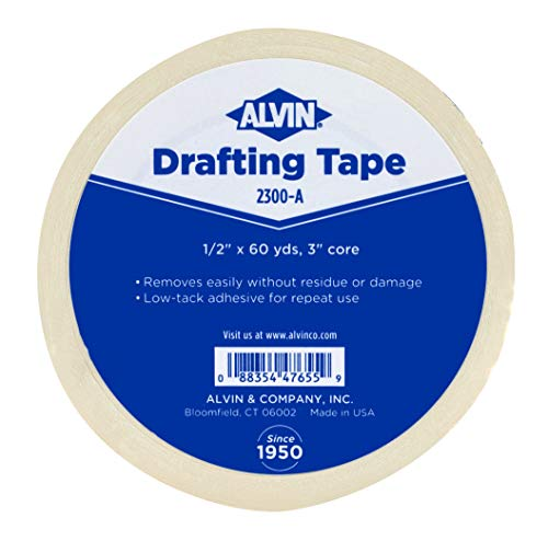 Alvin, 2300-A, Drafting Tape, 0.5