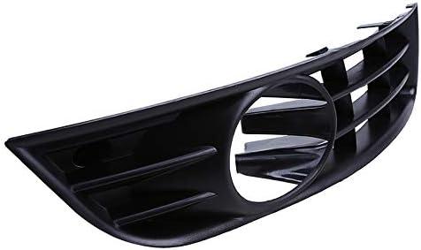 Parachoques delantero Frente del coche Lado inferior Luz antiniebla Cubierta de la parrilla para VW Passat B6 Sedan//Wagon 2005 2006 2007 2008 2009 2010,1ontheleftand