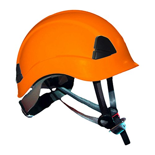 ProClimb Gem Work and Rescue ANSI Orange Helmet Z89.1-2014 Type I Class E Certified with drawstring storage bag by ProClimb
