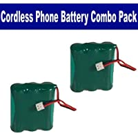 AT&T-Lucent 3301 Cordless Phone Combo-Pack includes: 2 x BATT-2414 Batteries