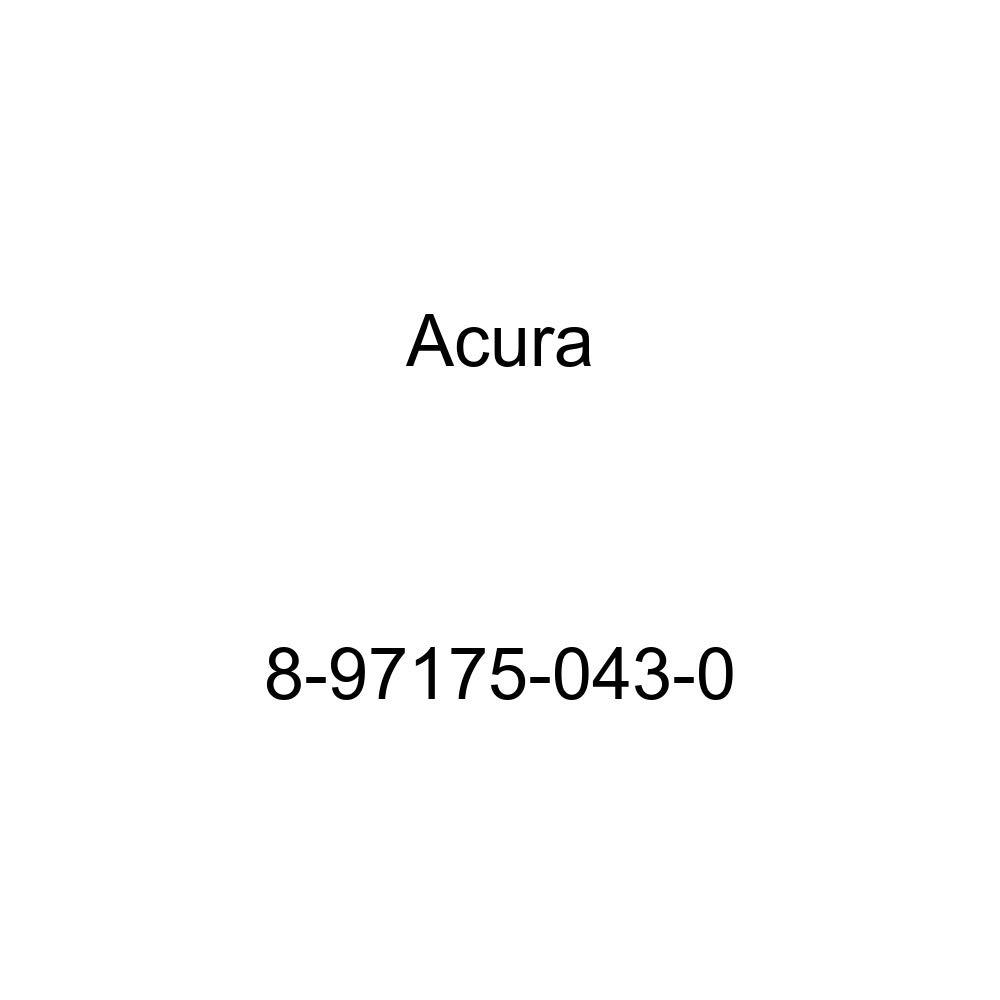 Genuine Acura Parts 8-97175-043-0 Front Bumper Cover Retainer