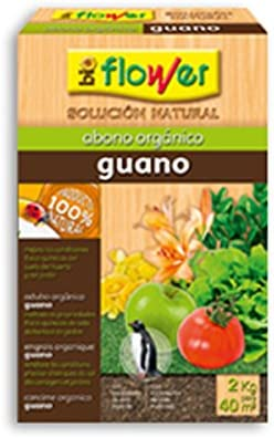 Flower 70521 70521-Abono orgánico Guano, No Aplica, 20.4x7.5x31 cm
