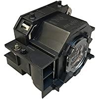ORILIGHTS ELPLP42 / V13H010L42 Replacement Lamp A+ level filament for Epson Projector with Housing