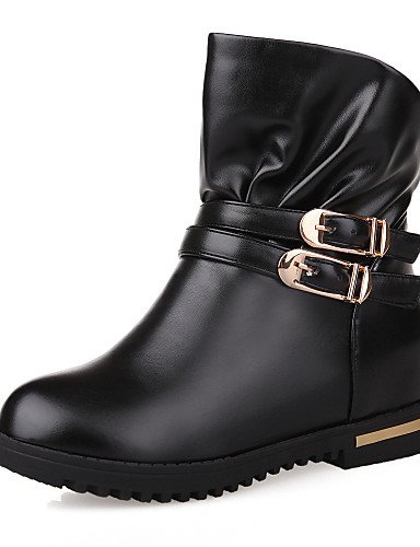 Xzz us8 Cn35 Brown Oficina Mujer Zapatos La Cn39 De Plataforma Marrón Casual Exterior Comfort A us5 Eu39 Uk6 Botas Trabajo Brown 5 Uk3 Semicuero negro Eu36 5 Y Moda rrUfxqBwn