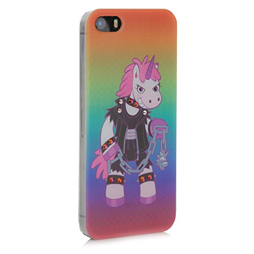 Crazy Unicorn iPhone SE 5 5s Case - Luxury Domina