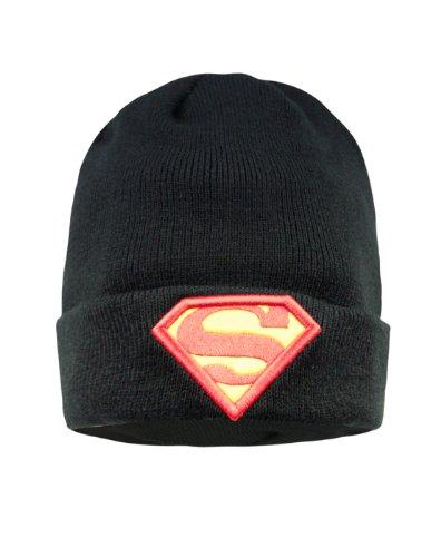 DC Comics Superman Black Beanie Hat]()