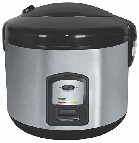 Reiskocher 1,8 Liter Multikocher Dampfgarer Edelstahl Schnellkochtopf Reis Kochtopf