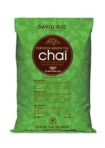 David Rio Food Service Tortoise Green Tea Chai, 1er Pack (1 x 1.814 kg)