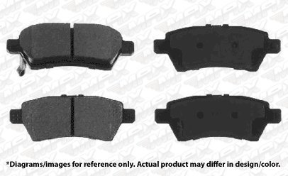 Max Brakes Front /& Rear Performance Brake Kit 2007-2012 Mazda CX7 KT041533 Fits Premium Slotted Drilled Rotors + Ceramic Pads
