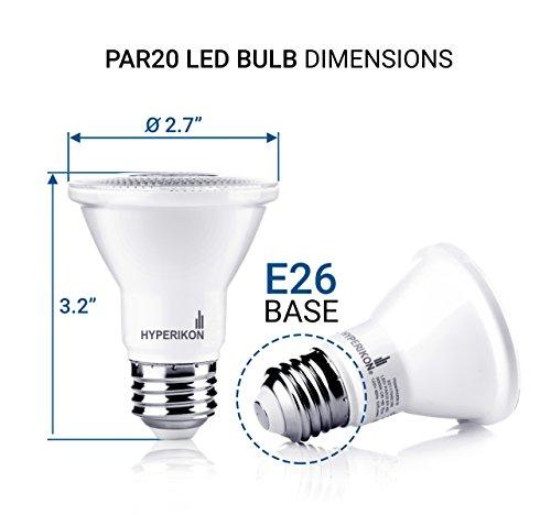DYSMIO Lighting One Light PAR20 120 Volt Die Cast Aluminum Durable Outdoor Landscape Security Lighting Flood