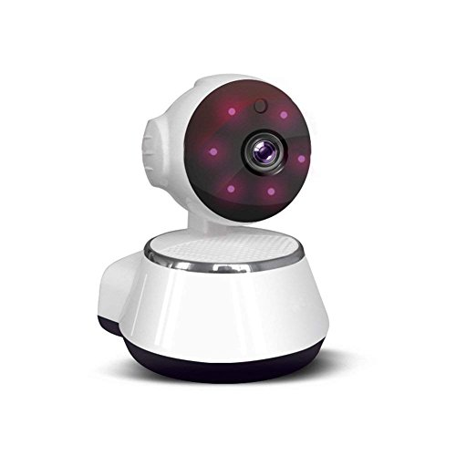 Range Speakers Full 1/4 (ZZY 720P HD Wifi Pan/Tilt Camera (1.0 Megapixel) Indoor Wireless Security Camera Two-Way Audio Motion Detection With Night Vision(White))
