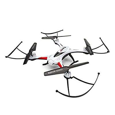 RC Drone, OOTTOO One Home Return 2.4GHz 4CH Quadcopter (Uav) 360 Degree Rolling Waterproof Drones with LED Light 400mAH Bonus Battery Helicopther-White by OOTTOO