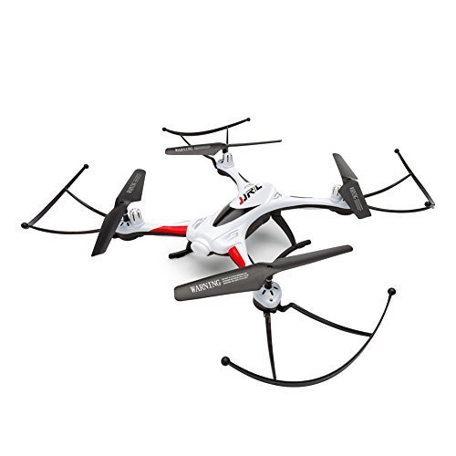 RC Drone, OOTTOO One Home Return 2.4GHz 4CH Quadcopter (Uav) 360 Degree Rolling Waterproof Drones with LED Light 400mAH Bonus Battery Helicopther-White