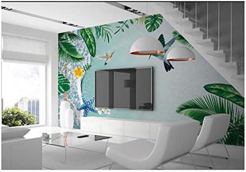 BVUYGZ Photo 3D Papier Peint Mural Moderne Simple Plante ...