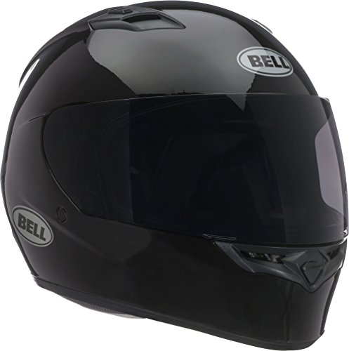 Bell Helmets Unisex (7049231) Solid Black Qualifier Full-Face, D.O.T-Certified Street Helmet-Adult Size XL Gloss, X-Large
