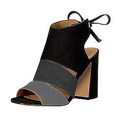Fashion bow thick heel pump shoes 9 grey - Casual Women s Shoes 4d2202770e72