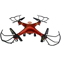 NiGHT LiONS TECH XBM-38 2.4G 4CH RC 6 Axis Gyro RC Quadcopter Drone Red RTF With 2MP HD Camera Big Promotion!