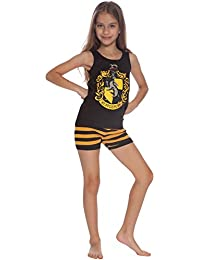 All House Crest Cotton Tank Top Pajama Short Set by Intimo