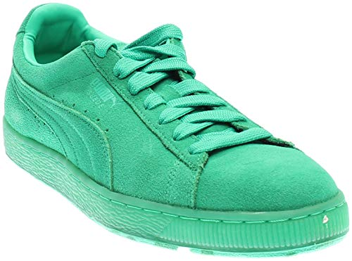 PUMA Mens Suede Classic Ice Mix Athletic & Sneakers Green ()